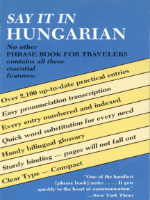 Say It in Hungarian
