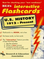United States History 1912-Present Interactive Flashcards Book