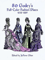80 Godey's Full-Color Fashion Plates