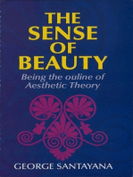 The Sense of Beauty
