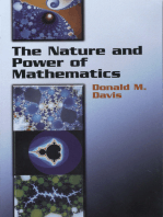 The Nature and Power of Mathematics