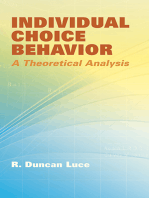 Individual Choice Behavior
