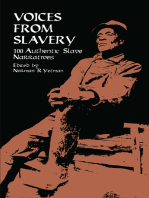 Voices from Slavery