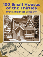 100 Small Houses of the Thirties