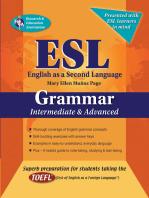 ESL Intermediate/Advanced Grammar