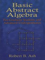 Basic Abstract Algebra