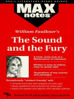 The Sound and the Fury (MAXNotes Literature Guides)