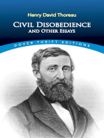 Civil Disobedience and Other Essays