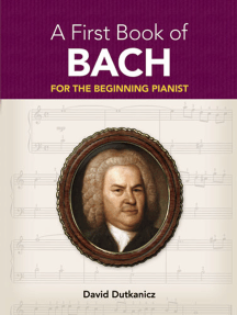 A First Book of Bach: for the Beginning Pianist with Downloadable MP3s