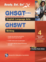 Georgia GHSGT ELA & GHSWT Writing with Online Practice Tests