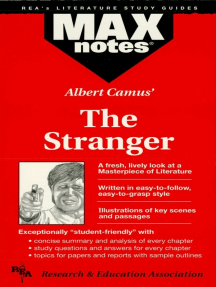 The Stranger (MAXNotes Literature Study Guides)