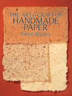 The Art & Craft of Handmade Paper