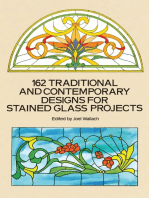 162 Traditional and Contemporary Designs for Stained Glass Projects