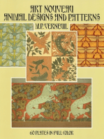 Art Nouveau Animal Designs and Patterns