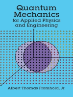 Quantum Mechanics for Applied Physics and Engineering
