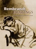 Rembrandt Drawings: 116 Masterpieces in Original Color