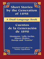 Short Stories by the Generation of 1898/Cuentos de la Generación de 1898