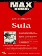 Sula (MAXNotes Literature Guides)