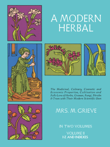 A Modern Herbal, Vol. II