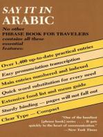Say It in Arabic