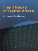 The Theory of Remainders