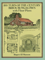 100 Turn-of-the-Century Brick Bungalows with Floor Plans