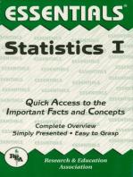 Statistics I Essentials