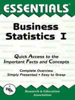Business Statistics I Essentials