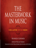 The Masterwork in Music