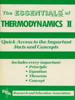 Thermodynamics II Essentials