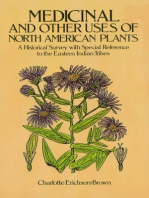 Medicinal and Other Uses of North American Plants: A Historical Survey with Special Reference to the Eastern Indian Tribes