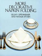 More Decorative Napkin Folding