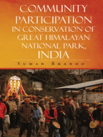 Community Participation in Conservation of Great Himalayan National Park, India