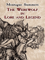 The Werewolf in Lore and Legend