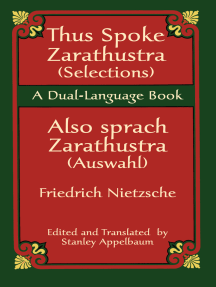 Thus Spoke Zarathustra (Selections)/Also sprach Zarathustra (Auswahl): A Dual-Language Book