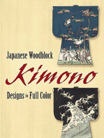 Japanese Woodblock Kimono Designs in Full Color