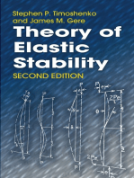 Theory of Elastic Stability