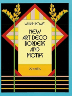 New Art Deco Borders and Motifs