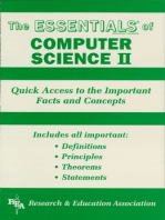 Computer Science II Essentials