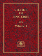Sichos In English, Volume 1