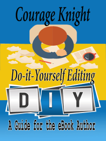 Do It Yourself Editing, a Guide for the eBook Author