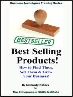 Best Selling Products (Entrepreneur Skills Series, #1)