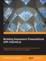 Building Impressive Presentations with Impress.js