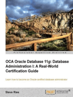 OCA Oracle Database 11g Database Administration I