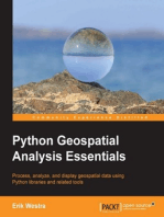 Python Geospatial Analysis Essentials