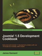 Joomla! 1.5 Development Cookbook