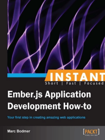Instant Ember.JS Application Development: How-to