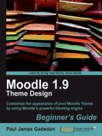 Moodle 1.9 Theme Design