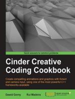 Cinder Creative Coding Cookbook