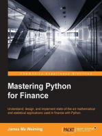 Mastering Python for Finance